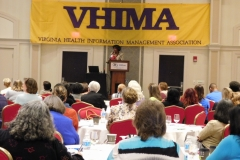 Arnita Brooks speaking at 2016 VHIMA Conference